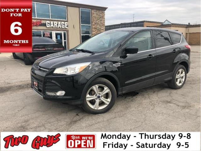 2016 Ford Escape SE | Htd Seats | SYNC | 1.6L FWD | B/Up Cam
