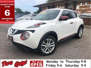 Used 2016 Nissan Juke SL AWD | Leather | Nav | Sunroof | Alloys for sale in St Catharines, ON