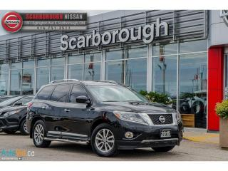Used 2015 Nissan Pathfinder SL AWD, Leather, Side step rails. for sale in Scarborough, ON
