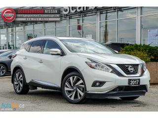 Used 2017 Nissan Murano 2017 Nissan Murano - 2017.5 AWD 4dr Platinum for sale in Scarborough, ON