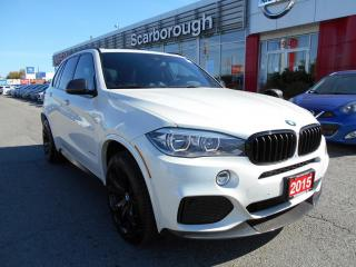 Used 2015 BMW X5 AWD 4dr xDrive35i M-Performance package. for sale in Scarborough, ON