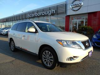 Used 2015 Nissan Pathfinder 4WD  SL Premium pkg, Navigation, Panoramic roof for sale in Scarborough, ON