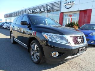 Used 2015 Nissan Pathfinder 4WD Platinum, DVD, Nav, Leather, Panoramic roof for sale in Scarborough, ON