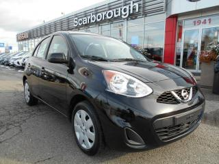 Used 2017 Nissan Micra 4dr HB Auto SV, Bluetooth. for sale in Scarborough, ON