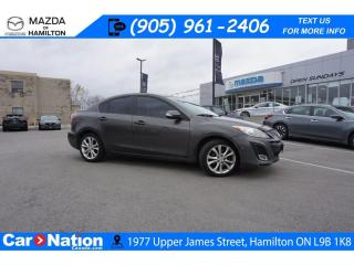 Used 2010 Mazda MAZDA3 GT | AS-TRADED | 6 SPEED | LEATHER | SUNROOF for sale in Hamilton, ON