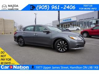 Used 2018 Nissan Altima 2.5 SV | SUNROOF | XM RADIO | REAR CAM | HTD SEATS for sale in Hamilton, ON