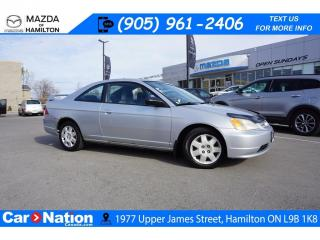 Used 2002 Honda Civic LX | AS-TRADED | SUNROOF | COUPE | CRUISE CONTROL for sale in Hamilton, ON