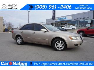 Used 2006 Hyundai Sonata GL | AS-TRADED | CRUISE CONTROL | A/C | ALLOYS for sale in Hamilton, ON