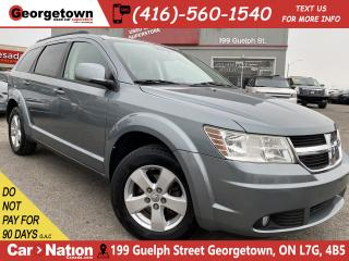 Used 2010 Dodge Journey SXT | V6 |  PWR SEAT | ALLOYS | FOGS | 107,715 KMS for sale in Georgetown, ON