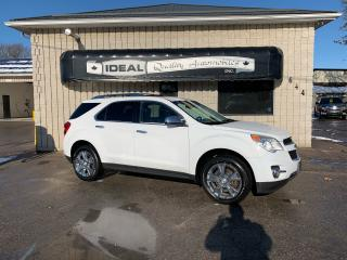 Used 2014 Chevrolet Equinox LTZ for sale in Mount Brydges, ON
