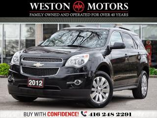 Used 2012 Chevrolet Equinox LT*LEATHER*SUNROOF*REV CAM!!!* for sale in Toronto, ON