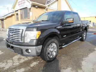 Used 2011 Ford F-150 XLT XTR Crew Cab 4X4 3.5L Eco Boost ONLY 109,000Km for sale in Rexdale, ON