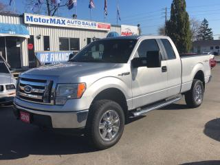 Used 2010 Ford F-150 XLT-4X4- WE FINANCE for sale in Stoney Creek, ON