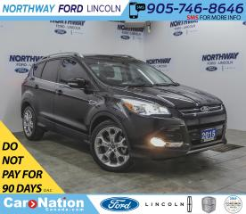Used 2015 Ford Escape Titanium | AWD | NAV | HTD LEATHER | PANOROOF | for sale in Brantford, ON