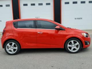 Used 2012 Chevrolet Sonic LT HATCHBACK for sale in Jarvis, ON