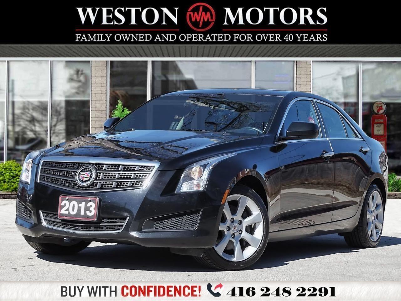 2013 Cadillac ATS *LEATHER*SUNROOF*REVERSE CAMERA!!*