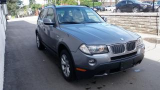 Used 2010 BMW X3 PANORAMIC ROOF 4X4 STRAIT SIX 28i for sale in Toronto, ON