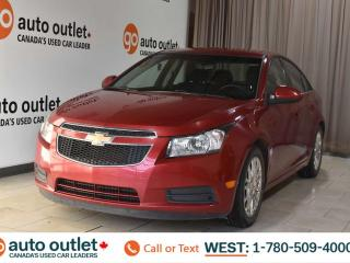 Used 2012 Chevrolet Cruze Eco, 1.4L I4, Fwd, Cloth seats, Bluetooth for sale in Edmonton, AB