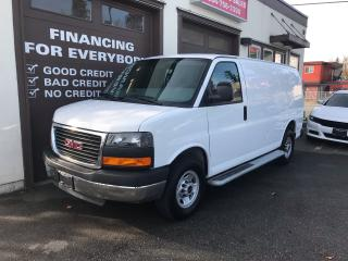 Used 2017 GMC Savana Cargo Van for sale in Abbotsford, BC