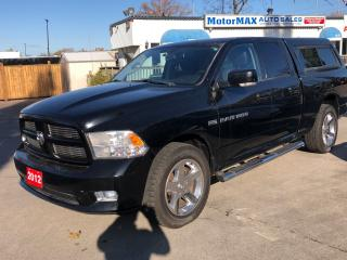 Used 2012 RAM 1500 SPORT- ONE OWNER- ACCIDENT FREE- WE FINANCE for sale in Stoney Creek, ON