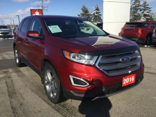 Used 2016 Ford Edge Titanium | AWD | Heated/ Cooled Seats for sale in Harriston, ON