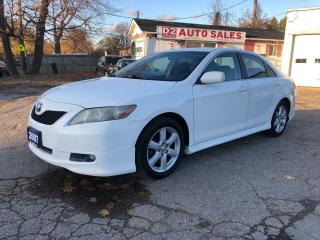 Used 2007 Toyota Camry SE/Automatic/4 Cylinder/Extra Set of Winter Tires for sale in Scarborough, ON