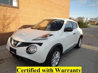 Used 2016 Nissan Juke SV/ NO ACCIDENTS/SAFETY AND WARRANTY for sale in Oakville, ON