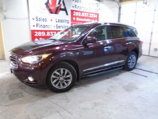 Used 2015 Infiniti QX60 AWD TECH PKG NAVIGATION  NO ACCIDENT 1 OWNER 360 c for sale in Oakville, ON