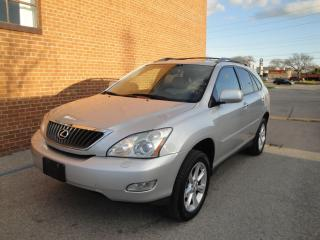 Used 2009 Lexus RX 350 NAVI/CAMERA/LEATHER /SUNROOF/SAFETY AND WARRANTY for sale in Oakville, ON