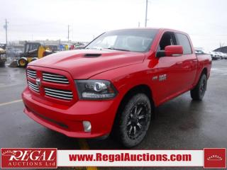 Used 2015 RAM 1500 SPORT 4D CREW CAB SWB 4WD 5.7L for sale in Calgary, AB