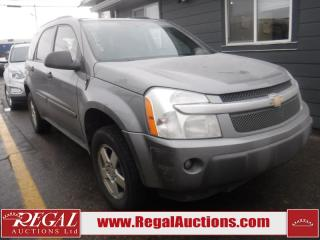 Used 2005 Chevrolet Equinox LS 4D Utility FWD for sale in Calgary, AB