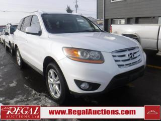 Used 2011 Hyundai Santa Fe Sport 4D Utility FWD for sale in Calgary, AB