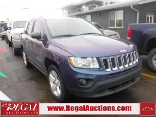 Used 2012 Jeep Compass 4D Utility 4WD for sale in Calgary, AB