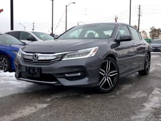 Used 2017 Honda Accord Touring, top-of-the-line for sale in Toronto, ON