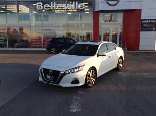 Used 2019 Nissan Altima 2.5 Platinum, LEATHER, SUNROOF, NAVIGATION, for sale in Belleville, ON