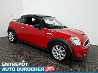 Used 2012 MINI Cooper Coupe S Automatique - AIR CLIMATISÉ - CUIR for sale in Laval, QC