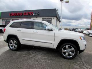 Used 2011 Jeep Grand Cherokee Overland 4WD LEATHER Navigation Certified for sale in Milton, ON