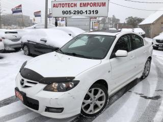 Used 2009 Mazda MAZDA3 Sport GT Sunroof loaded for sale in Mississauga, ON