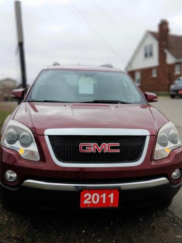 2011 GMC Acadia SLT1 Immaculate,Heated Leather,7 passenger.Financing for all credit situations.