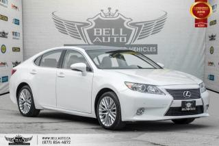 Used 2015 Lexus ES 350 NAVI, BACK-UP CAM, PANO ROOF, BLINDSPOT, COOLED SEATS for sale in Toronto, ON