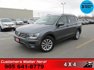 Used 2018 Volkswagen Tiguan 2.0T S  AWD CAM HTD-STS ALLOYS for sale in St. Catharines, ON