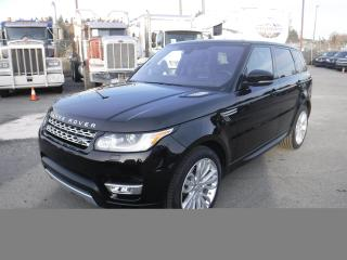 Used 2017 Land Rover Range Rover Sport HSE Diesel 3rd row seating for sale in Burnaby, BC