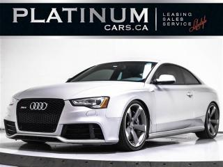 Used 2014 Audi RS 5 4.2 Quattro,AWD,TECHNIK,NAVI,BLIND SPOT,CAM, for sale in Toronto, ON