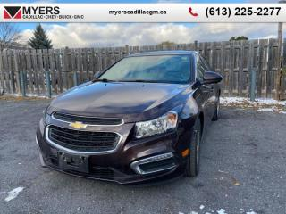 Used 2015 Chevrolet Cruze 2LT  LT, AUTOMATIC, REMOTE START, REAR VIEW CAM, HEATED FRONT SEATS, BLUETOOTH for sale in Ottawa, ON