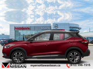 New 2019 Nissan Kicks SR FWD  -  Heated Seats -  Fog Lights - $164 B/W for sale in Ottawa, ON