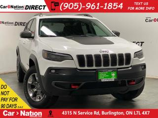 Used 2019 Jeep Cherokee Trailhawk L Plus| 4X4| LEATHER| PANO ROOF| for sale in Burlington, ON