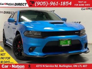 Used 2015 Dodge Charger SRT| LOCAL TRADE| SUNROOF| LAGUNA LEATHER| NAVI| for sale in Burlington, ON