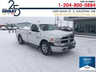 Used 2017 RAM 1500 ST for sale in Dauphin, MB