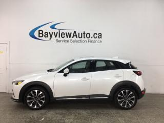 Used 2019 Mazda CX-3 GT - AWD! HTD LEATHER! SUNROOF! ADAPTIVE CRUISE! ONLY 4000KMS! for sale in Belleville, ON