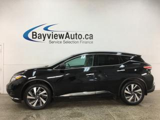 Used 2016 Nissan Murano Platinum - AWD! HTD/COOLED LEATHER! PANOROOF! NAV! ADAPTIVE CRUISE! for sale in Belleville, ON